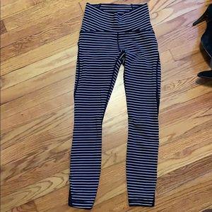 Lululemon striped leggings brand new